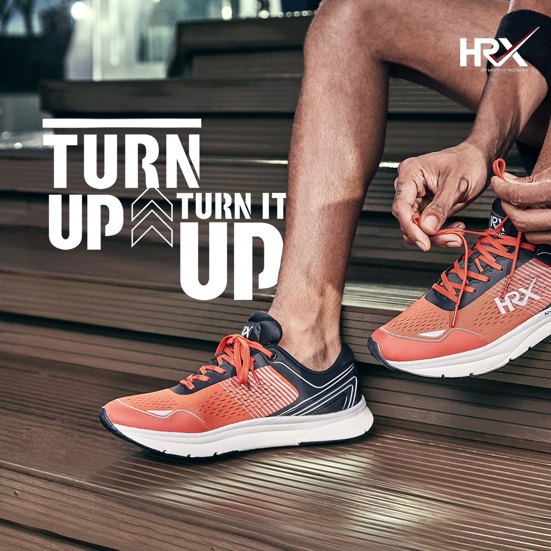 LACE UP, here comes another year. What does your fitness resolution look like? 🤔  Get the finest HRX gear at unbelievable prices at the Myntra End Of Reason Sale until the 24th of December ⏰ Explore our latest collection and #TurnItUpWithHRX Explore now: