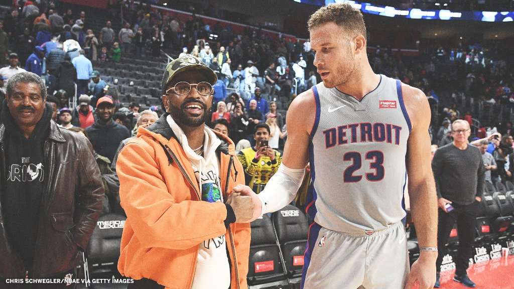 A dream come true for a lifelong Pistons fan:  @BigSean is the @DetroitPistons' new creative director of innovation.  via @TheUndefeated: