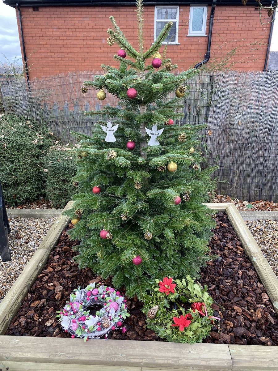 Just a few decorations for the Xmas tree at Hyde Police Station... brighten up a miserable news day