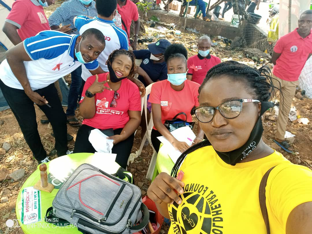 @EKCISHAN in collaboration with EKSACA revisited Atikankan community for HIV sensitization and testing, today.  The vision is to have a society free of HIV/AIDS. Which is only possible when you and I are involved in the process of the society we envisioned.   #WAD2020 #GetTested