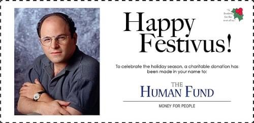 Replying to @WarrenWhitlock: #festivus for the rest of us