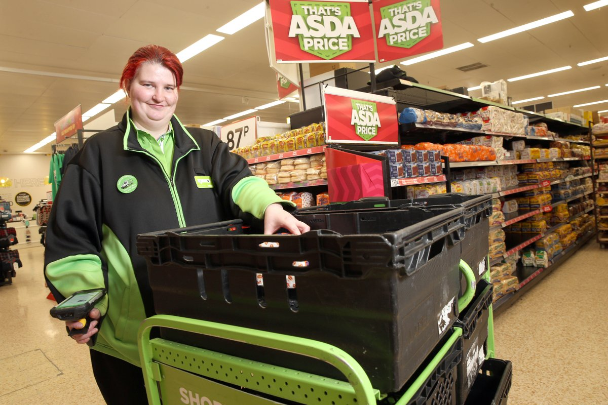 Lesley is a key worker in @asda  as a Home Picking Shopper - Lesley lives with a learning disability, with support from @trianglePTE she has thrived in her job & is a valuable member of the team. Read her story:  @niuse_tweets  #MakingitWork #IDPD