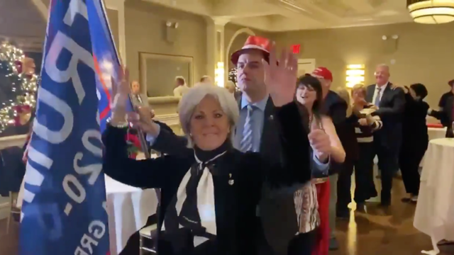 Republican club's indoor holiday party in Queens goes viral for Conga line