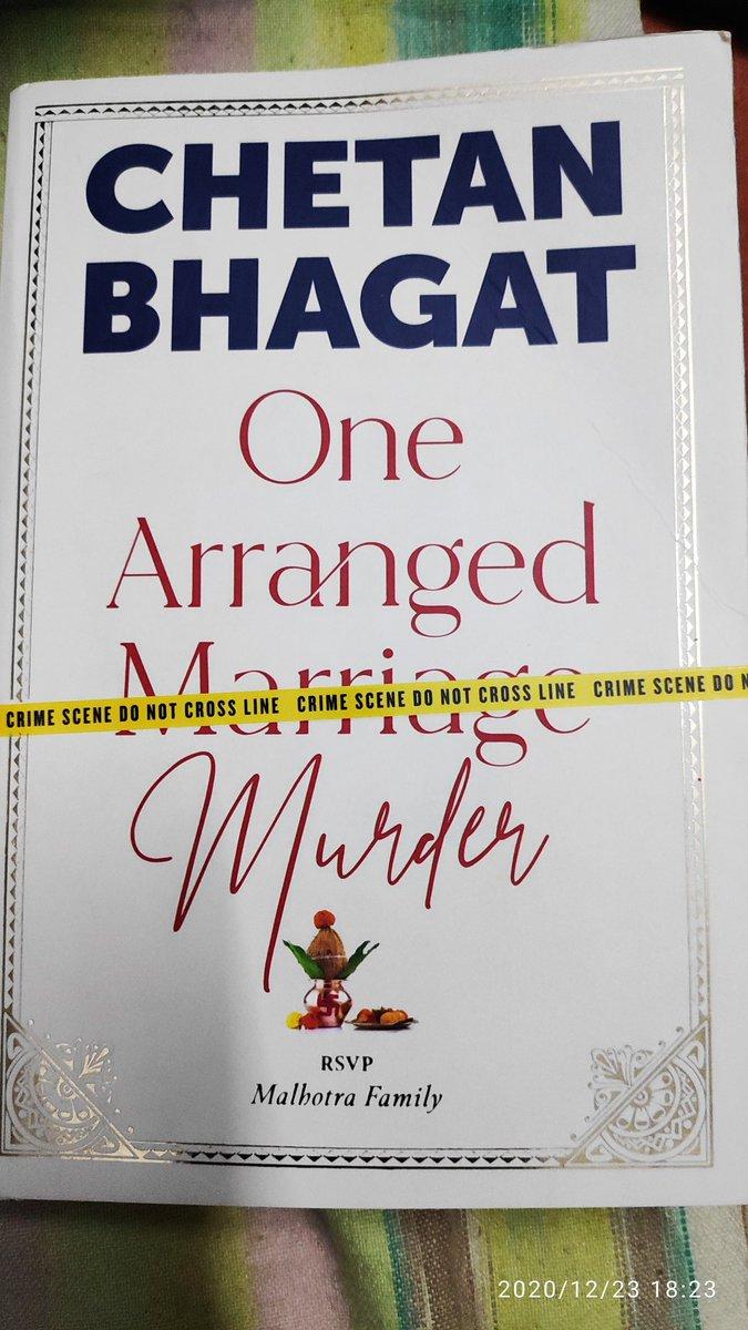 @chetan_bhagat finally I buy my Christmas gift #onearrangedmurder by real Santa in our life #moneybhai .