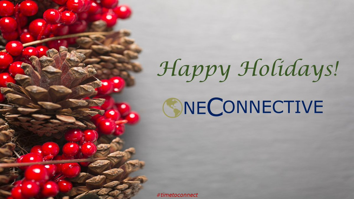 Wishing you and yours all the best for the Holidays and 2021!  OneConnective  #timetoconnect #communications #pr #ir #marketing #finance