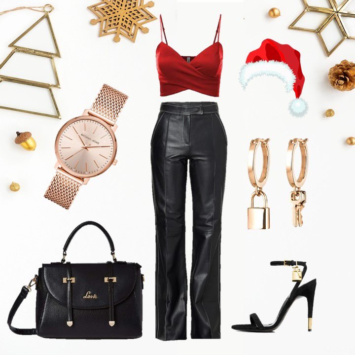 This holiday season, we go by the rule: TRENDIER, THE MERRIER! Get Christmas ready with @LavieWorld & let us know how you would style this bag with your outfit! x Click this link to shop this bag at an amazing discount  x #SleighWithLavie #virtualstyling