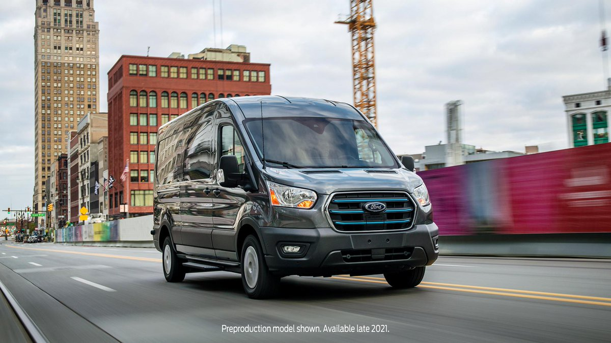 Focus on the bottom line without compromise. The all-new 2022 E-Transit is connected, capable and good for the environment.