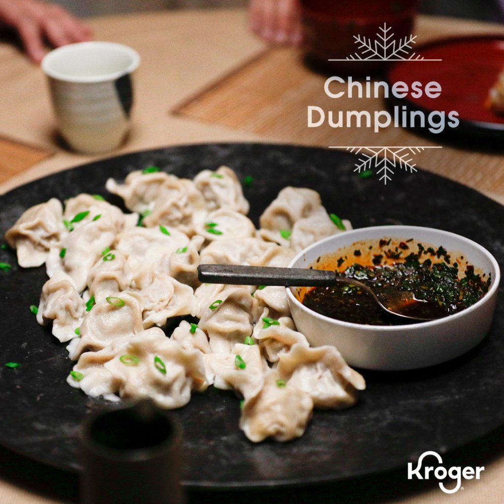 Trust us, you'll be surprised at how easy it is to make these fresh Chinese Dumplings. The best part? The sweet and spicy dipping sauce 😋