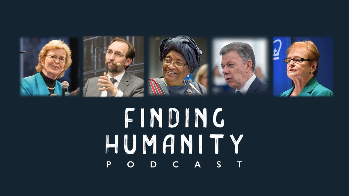 🎙️ Hear The Elders in conversation 🎙️  This year, The Elders made their podcast debut with @Find_Humanity, a new podcast exploring the need for empathetic and principled leadership in the time of #COVID19. Discover more in our #YearInReview: