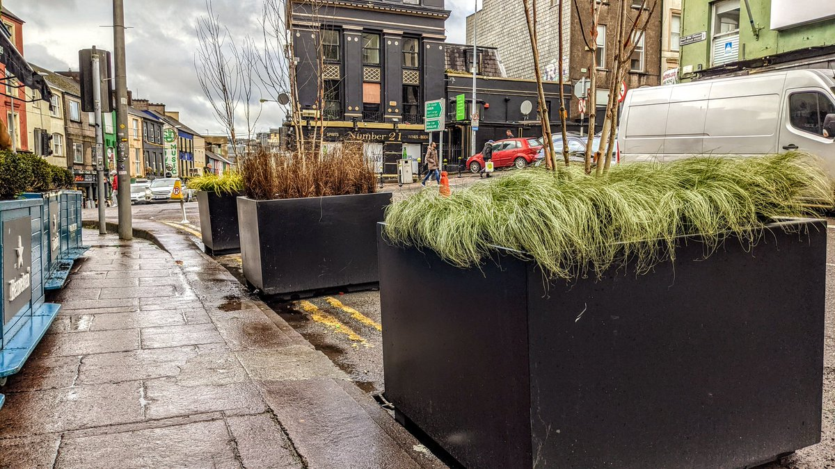Thank you @corkcitycouncil for helping to bring a little life to MacCurtain Street!