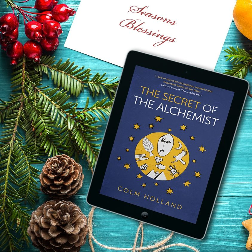 There's just enough time to order my book for the Holidays! The Secret of the Alchemist - Uncovering The Secret in Paulo Coelho's Bestselling Novel 'The Alchemist' published by @obooks. #holidayreads