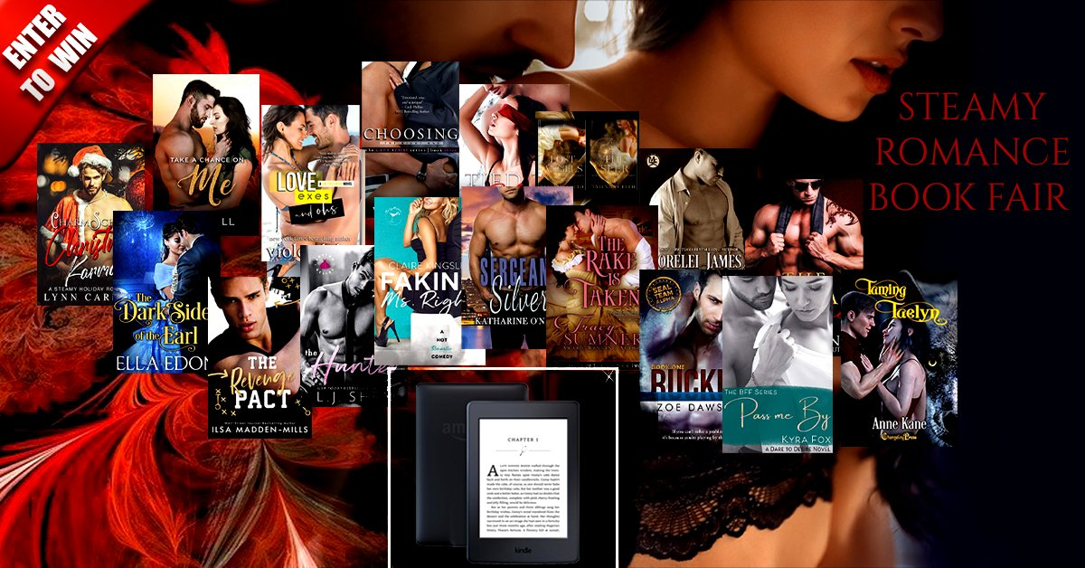 💥🍂⭐️It's all about Romance📚 Our December Steamy Romance Book Fair is here! Plus, we're giving away a 🎁Kindle Paperwhite to one lucky winner. Check out our books and enter our giveaway.