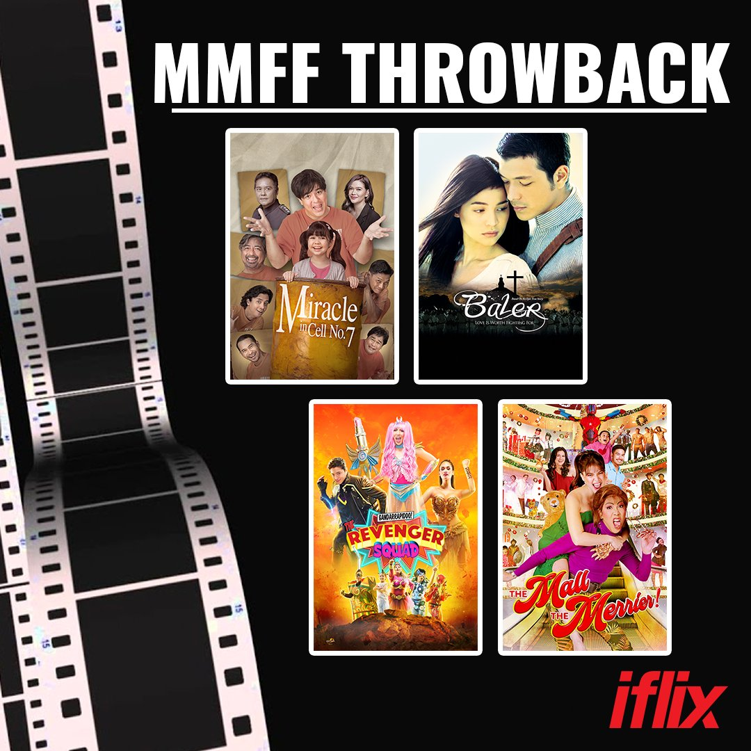 December is MMFF season! 🍿🎟️ Best na mag #tbt muna and balikan ang some of the previous entries with Vice, Daniel, Anne, Aga, Jericho, and more all available on #iflix:   #MMFF #MMFF2020 #ViceGanda #DanielPadilla #AnneCurtis #AgaMuhlach #JerichoRosales