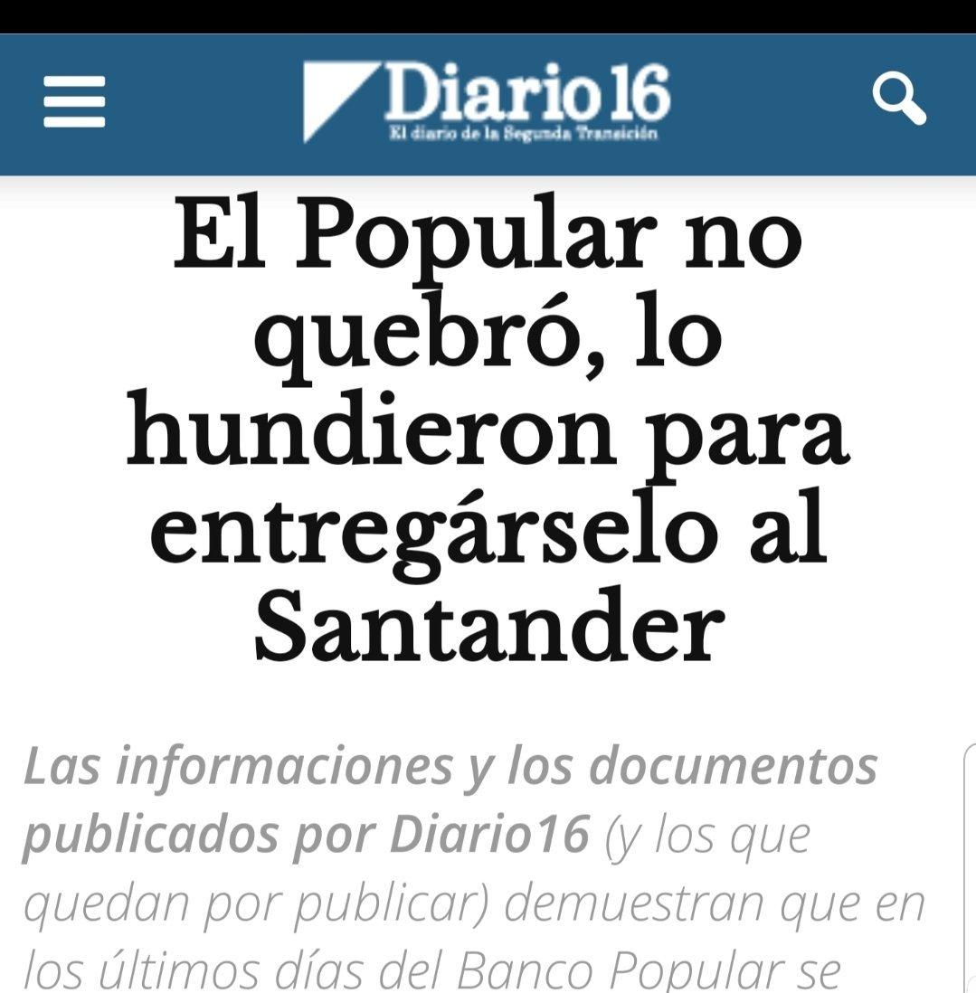 @santander_es @RafaelNadal Vamos a recuperar el dinero expoliado en la #EstafaBancoPopular? Gracias esta Navidad será maravillosa.