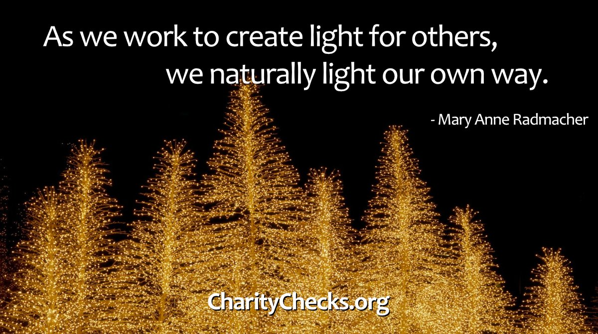 Shine bright! You can order Charity Checks in time for Christmas delivery if you give us your FedEx # or pay for Express shipping. Give the gift that pays forward!  Please RT! #RedefineGifting #ChristmasGifts #KidGifts #kindgifts #HolidayGifts #bestgifts