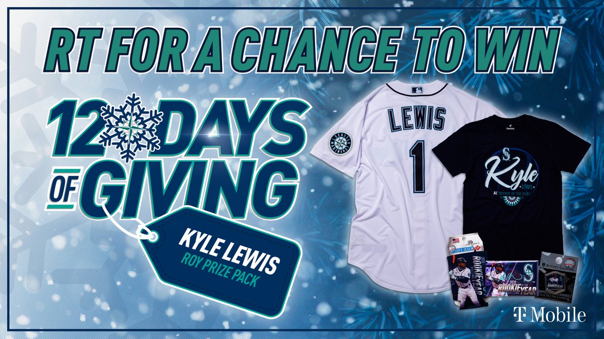 🎁 RT TO WIN 🎁   Go ahead and hit that retweet button for a chance to win a @KLew_5 ROY Prize Pack from the @MarinersStore! #12DaysOfGiving  Rules: No purch. nec. Enter by 11:59 pm PT on 12/28/2020.