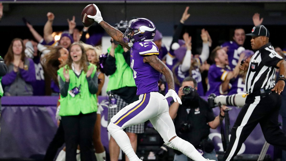 "On this day 3 years ago: The Minneapolis Miracle. ""Diggs. Sideline. Touchdown. UNBELIEVABLE! Vikings win it!"""