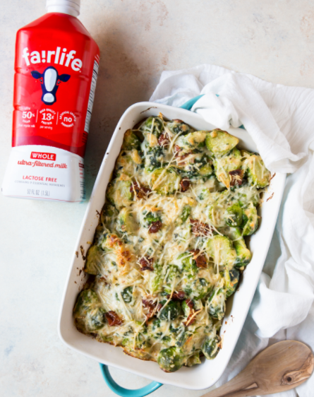 Winter is the perfect time for roasted veggies, and we're all about this Brussel Sprouts Au Gratin Recipe! Enjoy this delicious side dish for your next dinner by following the link below.   https://t.co/jQ14tbWUEs https://t.co/WYsYuUlysX