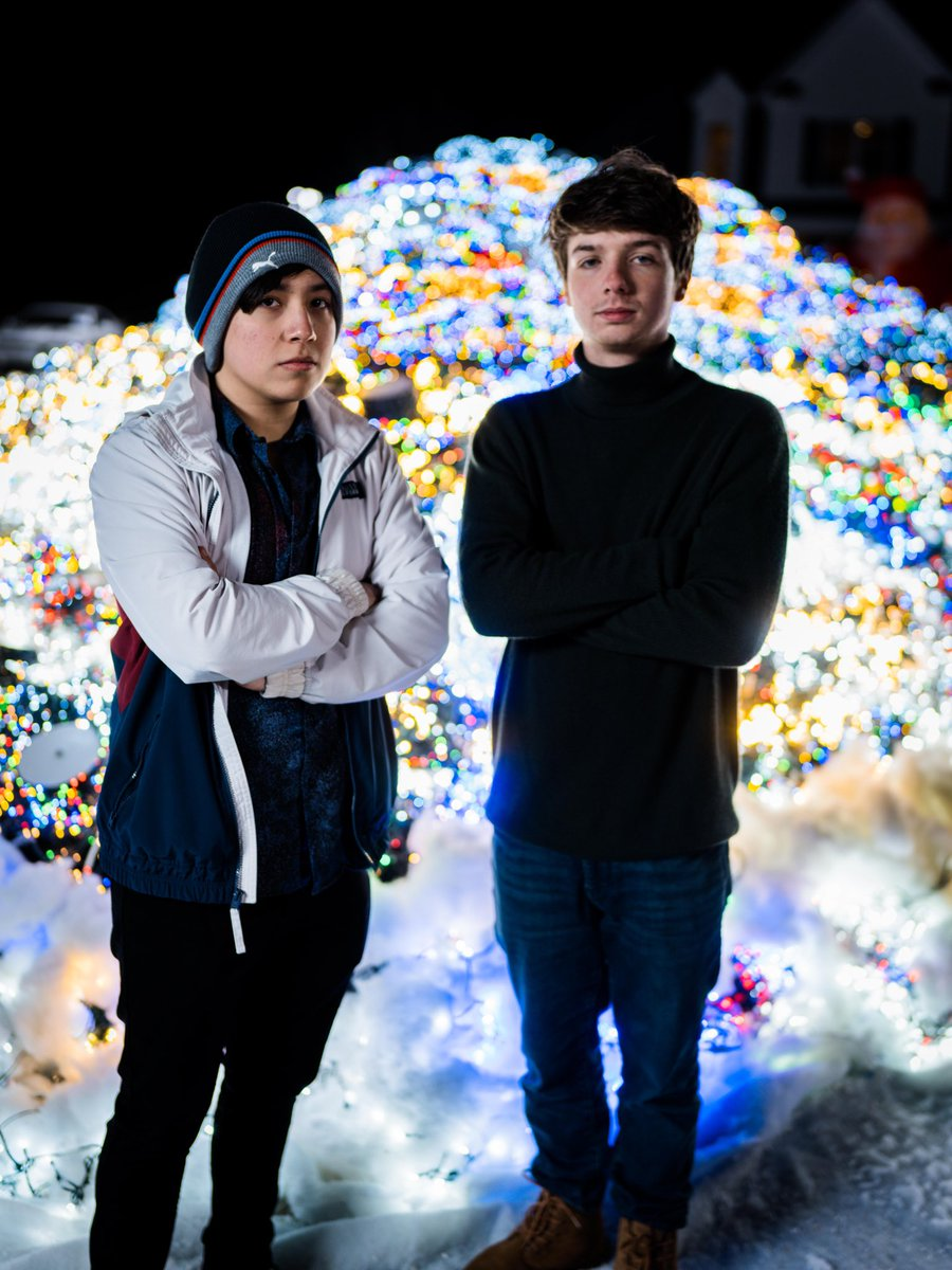 Happy Holidays from me and Alex :]