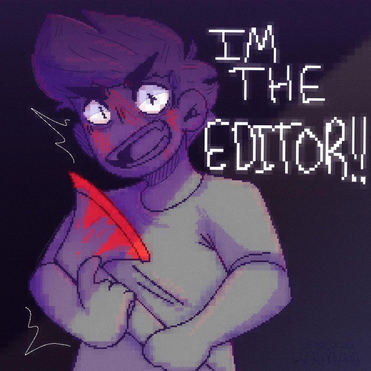 tw//blood   he's the editor :] @LixianTV  #art #artist