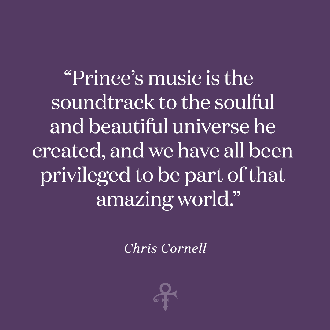 The late Soundgarden frontman was deeply inspired by Prince and previously went viral with an in-studio performance of the song.