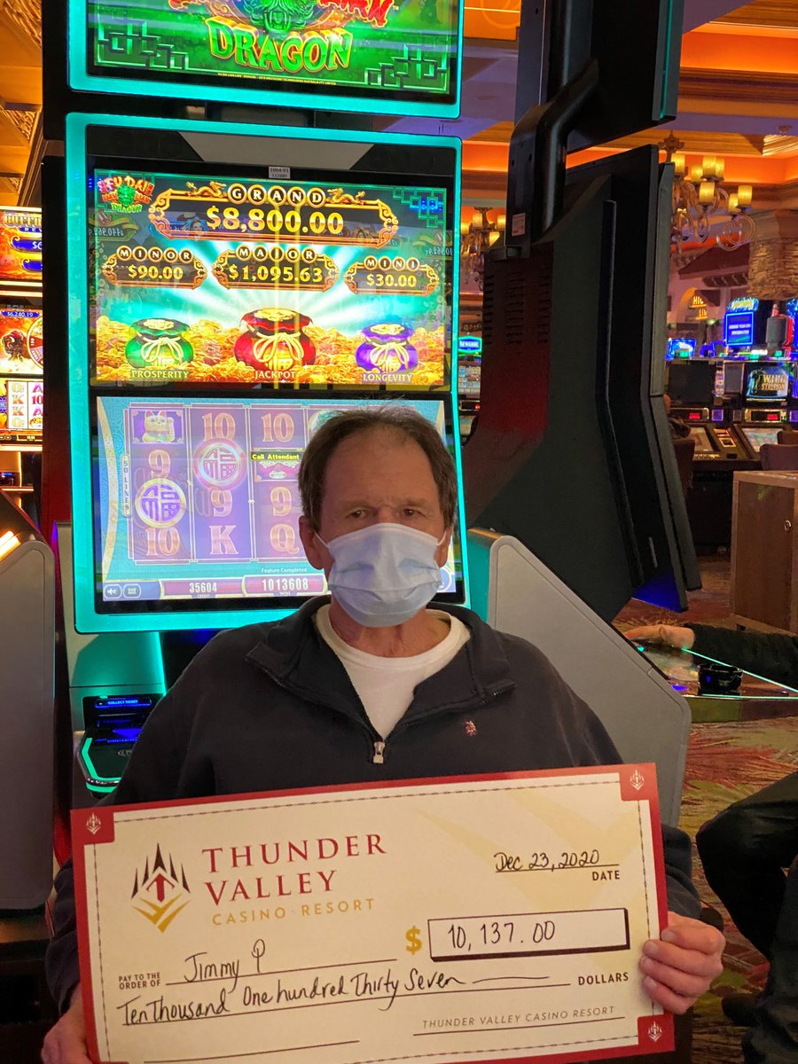 Christmas morning came early for Jimmy when he hit a $10,137 jackpot on Fu Dai Lian Lian Dragon! 🐉  🎰 💰 🎉  🎄