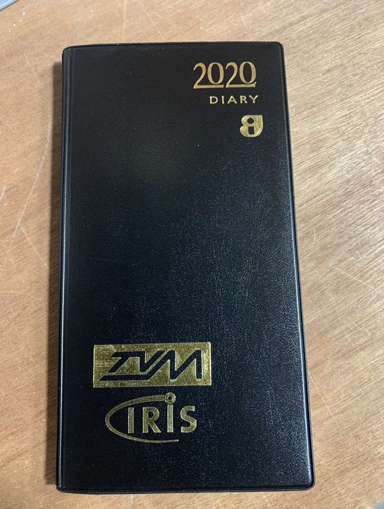 test Twitter Media - 2020 has seen many changes, for us the 2020 TVM & IRIS Pocket Diary could become a collectors item and will be the last in the 'series' after over 20 years! https://t.co/Bb5tMDdH4y