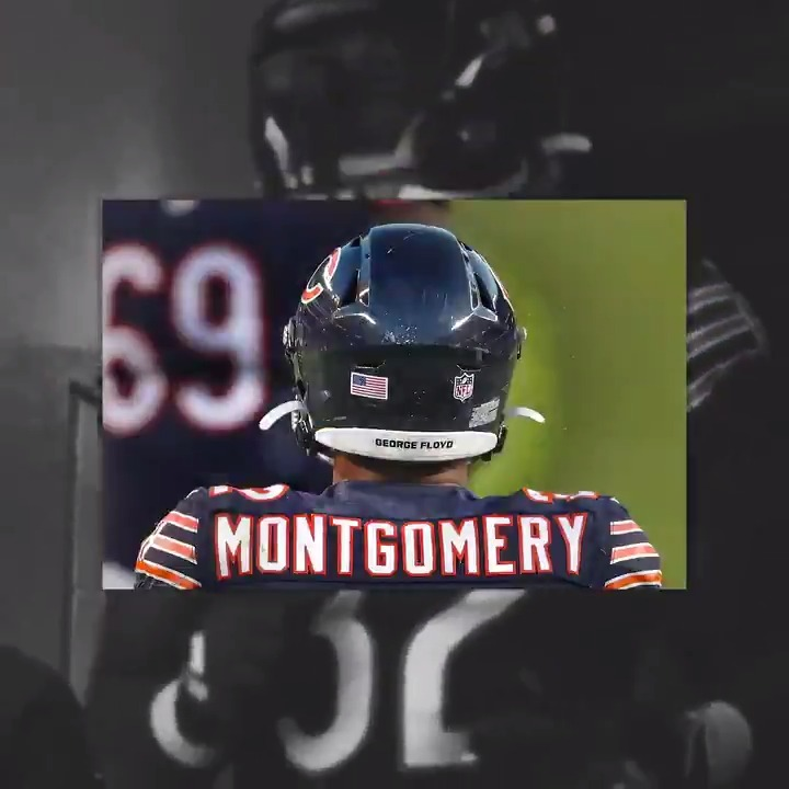 """Five TDs in his last three games. @MontgomerDavid has the @ChicagoBears in the playoff hunt. #DaBears  🎶 """"Fire It Up"""" by @robinthicke #SongsOfTheSeason"""