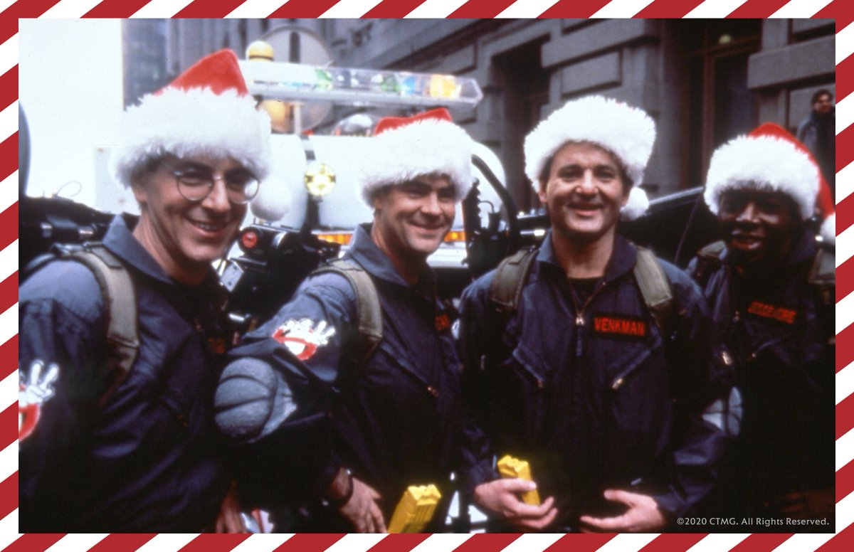 Unexpected visitor last night? You know who to call. 🍪👻 Merry #Christmas from our #Ghostbusters family to yours!