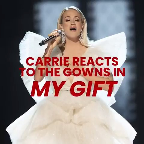 Hear about all of Carrie's stunning looks from the #MyGift Christmas Special! #MyGiftHBOMax @hbomax @HBOMaxPop 🎁✨ ​ -TeamCU