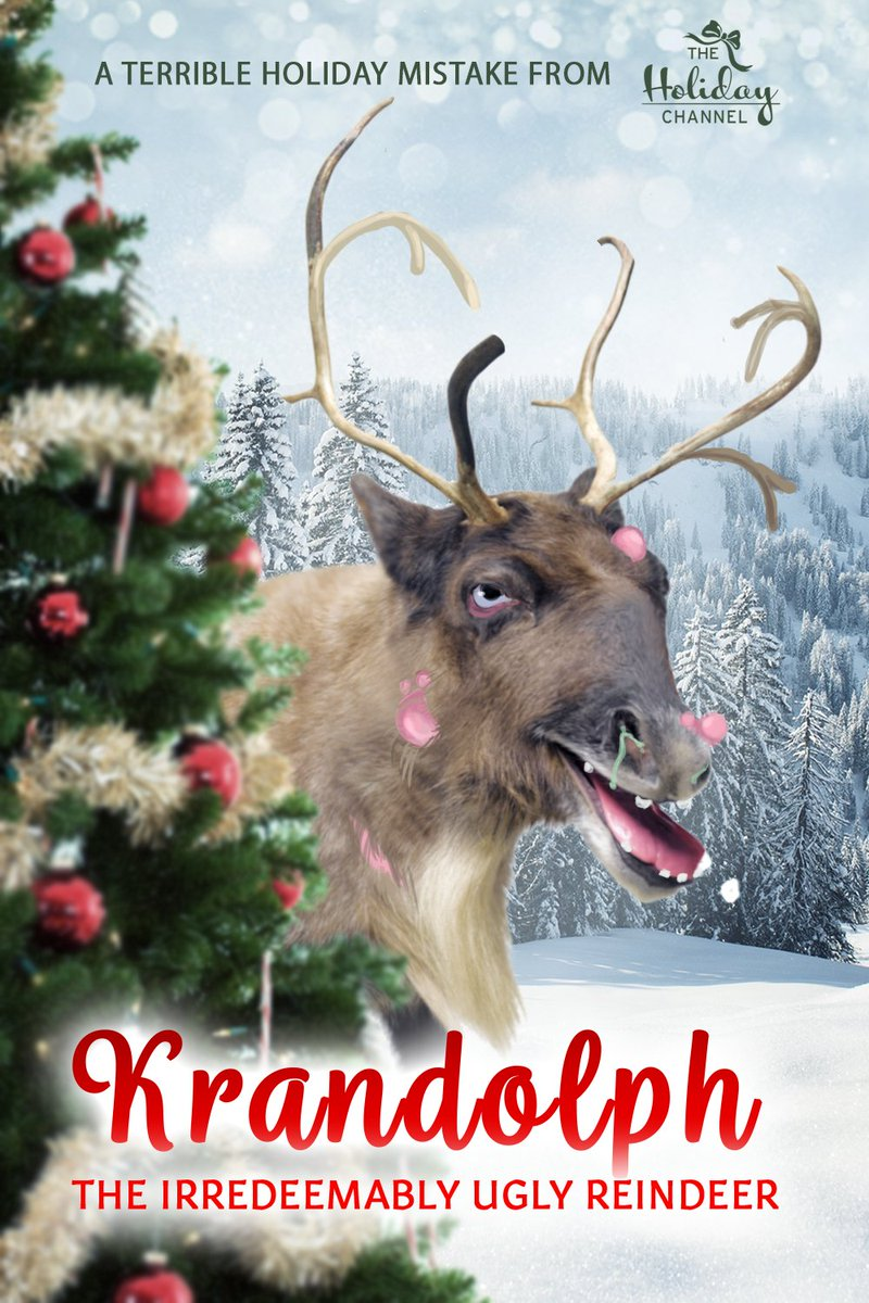 KRANDOLPH, THE IRREDEEMABLY UGLY REINDEER: When a fungal infection wipes out 99% of Santa's reindeer, Krandolph, the most disgusting reindeer of all, might finally get a change to prove himself.