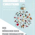 Image for the Tweet beginning: Frohe Weihnachten!