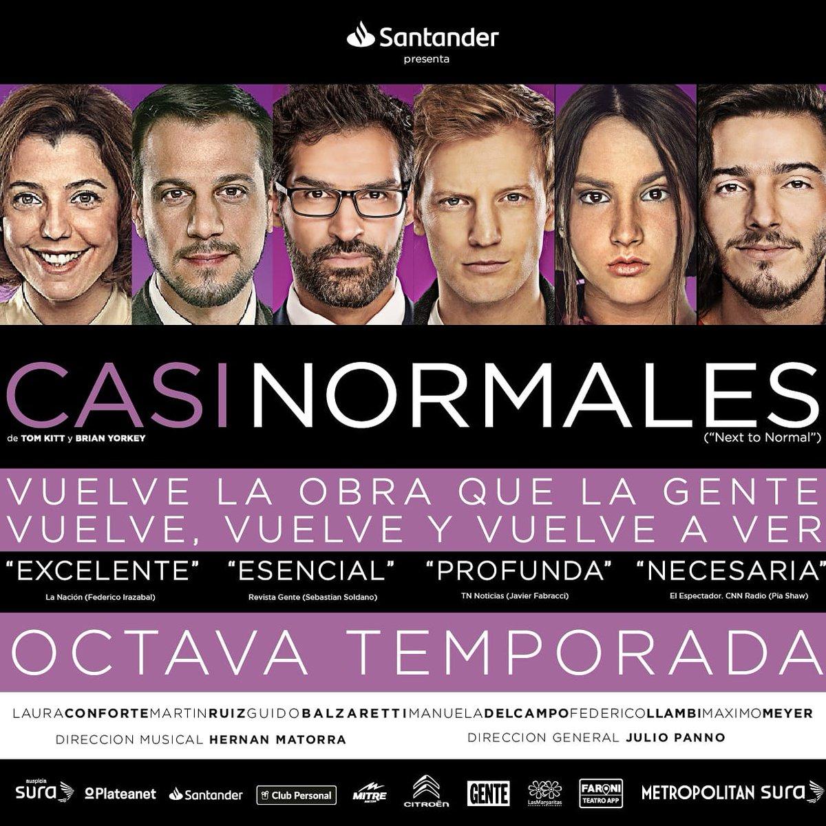 Estreno 9 de Enero⚡8va Temporada⚡@teatrometsura Entradas aquí  #sernormalnoestannormal