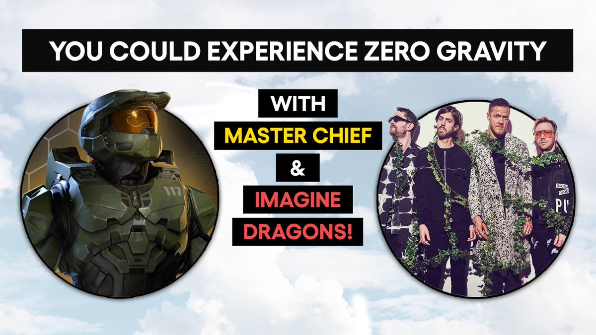 Floating in zero gravity with Master Chief and Imagine Dragons right before you take home a custom Xbox Series X sounds like the wildest dream.  Support a great cause and enter here for a chance to make it real: