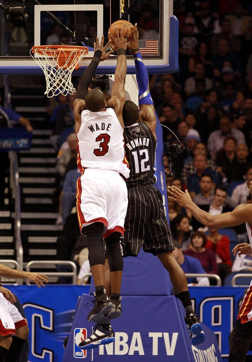 In honor of the Heat opening their season tonight against the Magic, here are some of the best photos of DWade vs the Magic! #HeatNation
