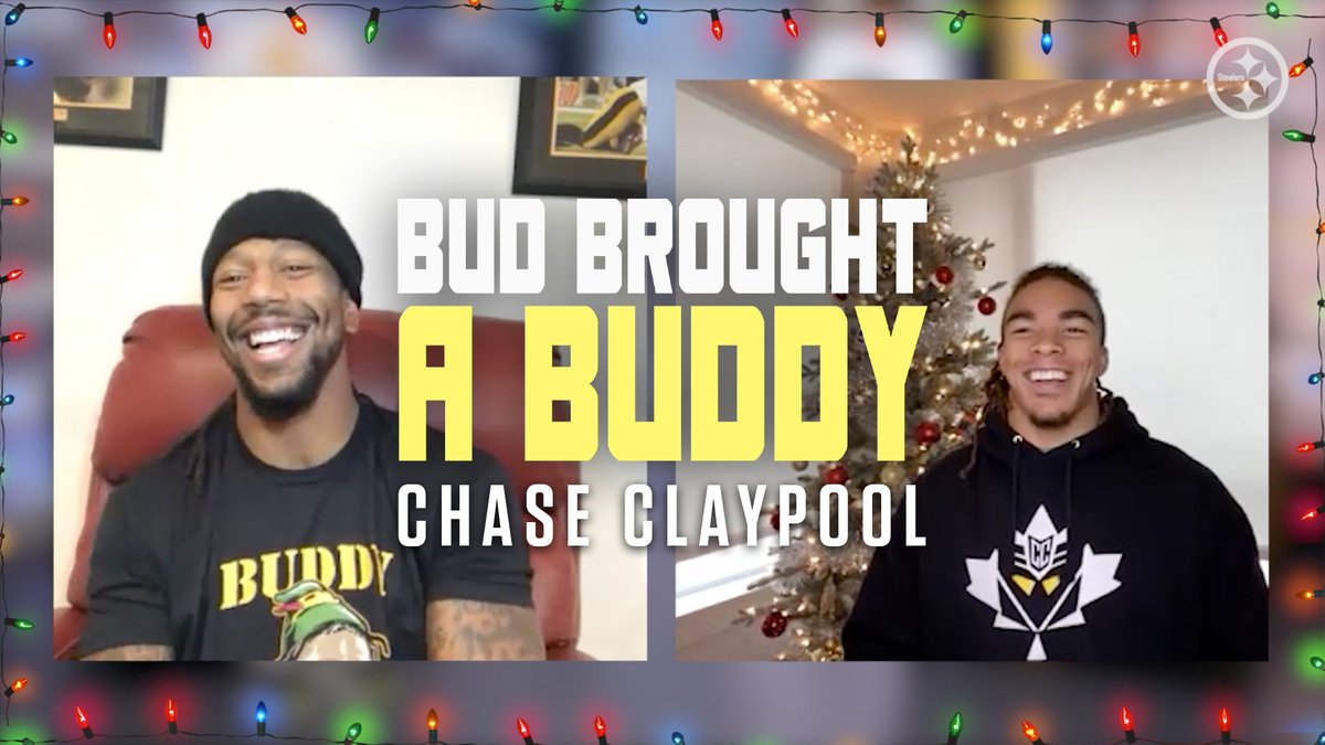 If you name it, he puts maple syrup on it.  On this episode of Bud Brought A Buddy, @Bud_Dupree talks to @ChaseClaypool about where he grew up, his nickname, his love for maple syrup, his favorite Christmas movie and more.  Full 🎥: