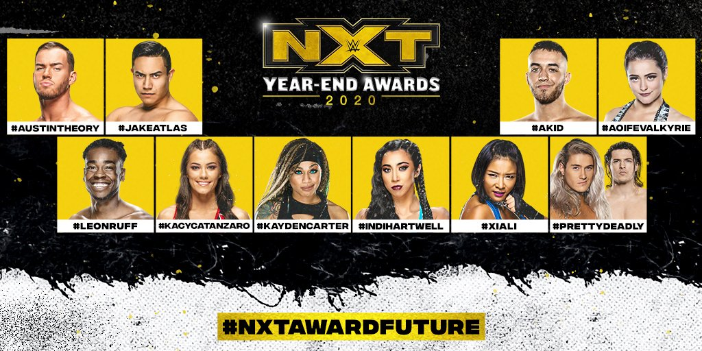 WWE NXT 2020 Year-End Awards Full Details Revealed