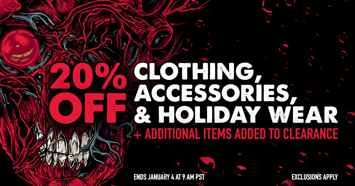 The holidays may be over but the sales are not! Save 20% on clothing, accessories, and holiday wear through January 3rd in the Met Store. Plus check out the new markdowns in the Clearance section!  Save Now ➡️