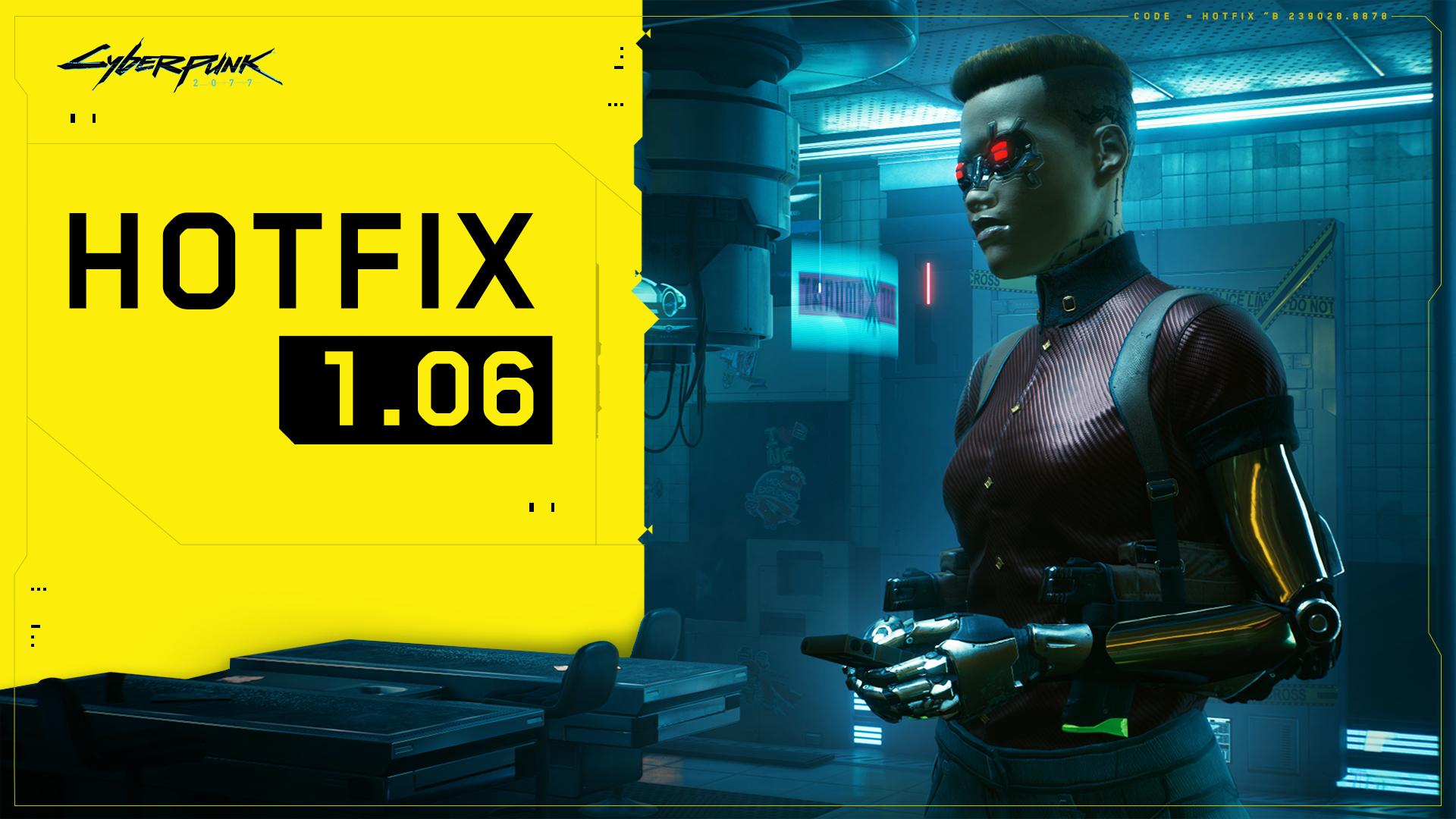 cyberpunk 2077 update 1.06