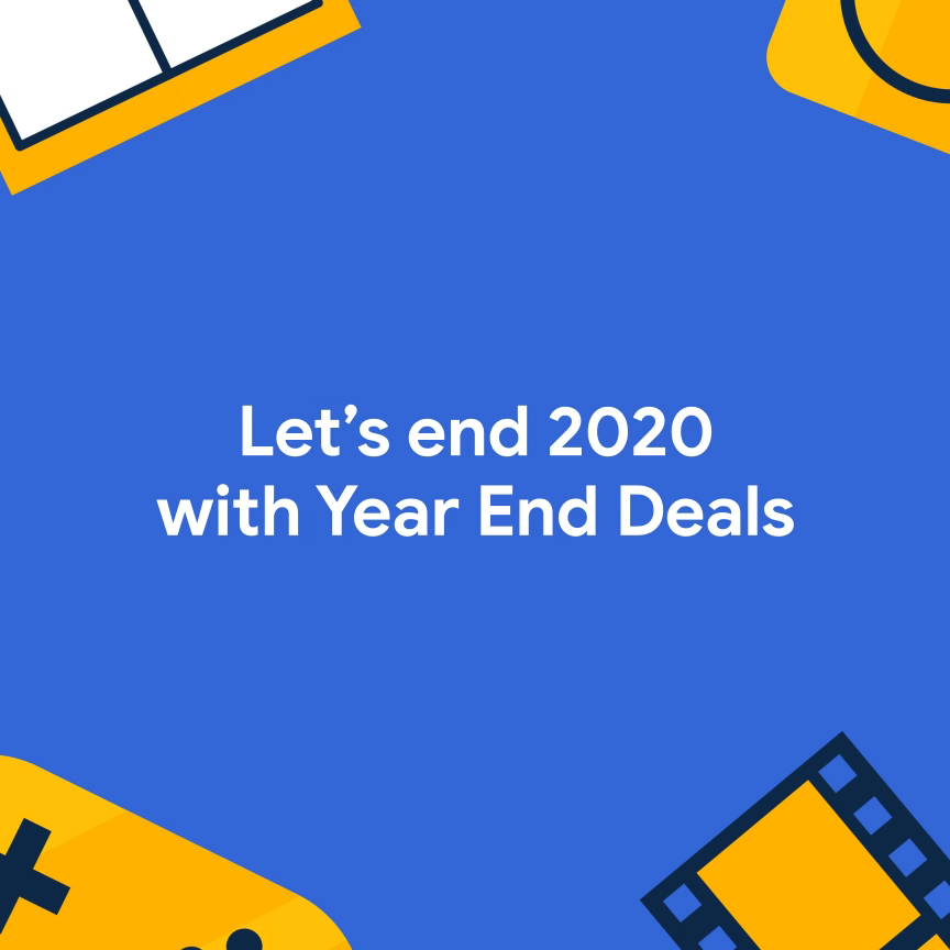 We're going out with a 🎉!  Check out our Year-End Deals and get your phone loaded with the best apps for 2021 at a great price!