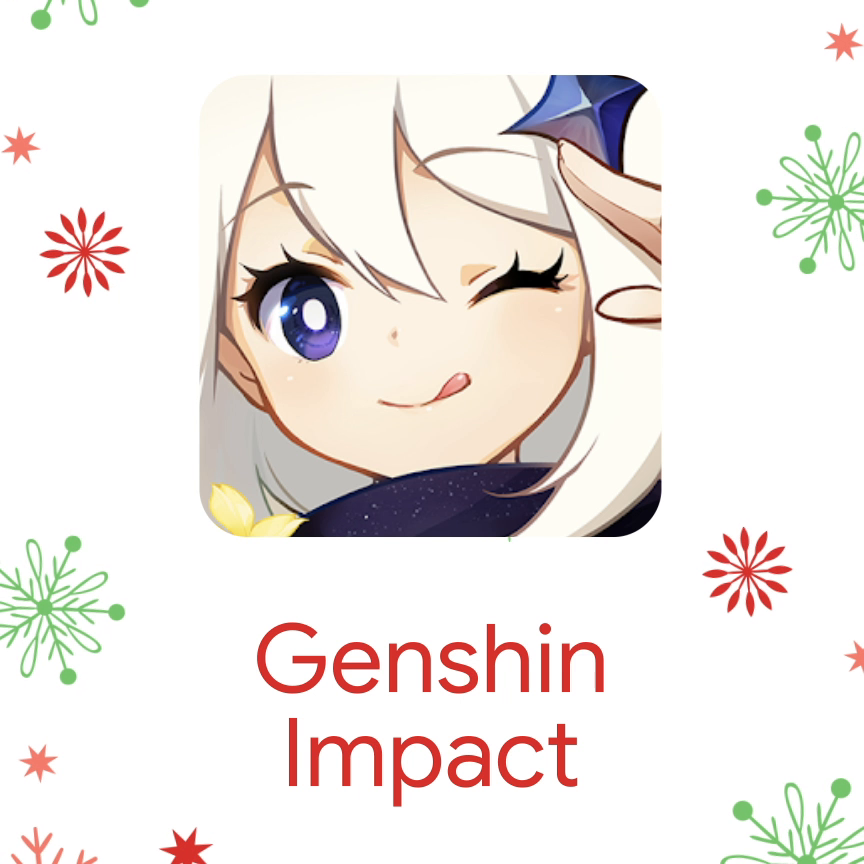 On the 3rd day of Playmas, we recommend a wild adventure against the Gods of the elements. 🔥 Genshin Impact is the ultimate game for fans of fantasy, magic, and epic soundtracks!  Check it out on Google Play.  App by @miHoYo
