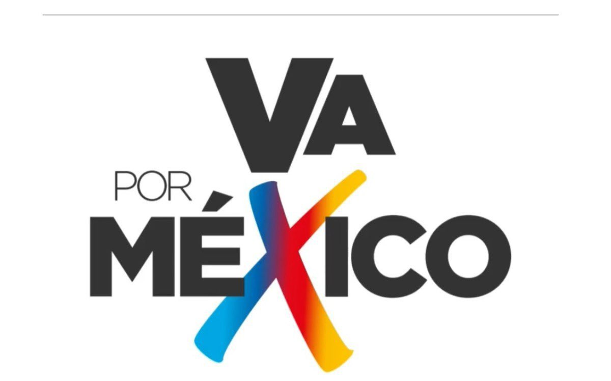 """¡Hasta eso se roban! Preparan demanda contra la alianza PRI, PRD y PAN por robar la marca """"Va por México"""""""