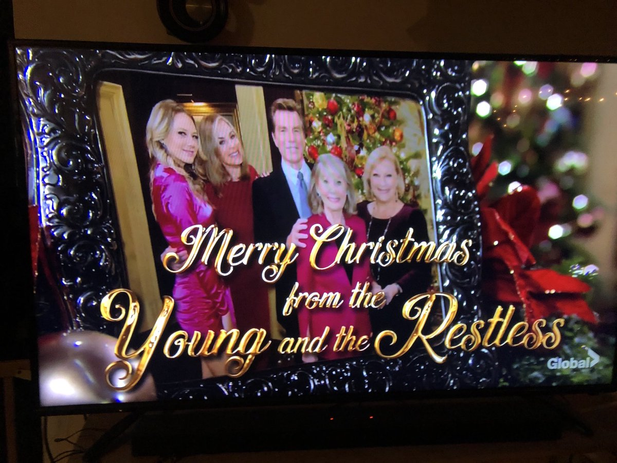 Merry Safe Healthy Christmas to all Young and Restless Stars love a big fan ♥️🙏🏽 https://t.co/bv0vHTcIV0