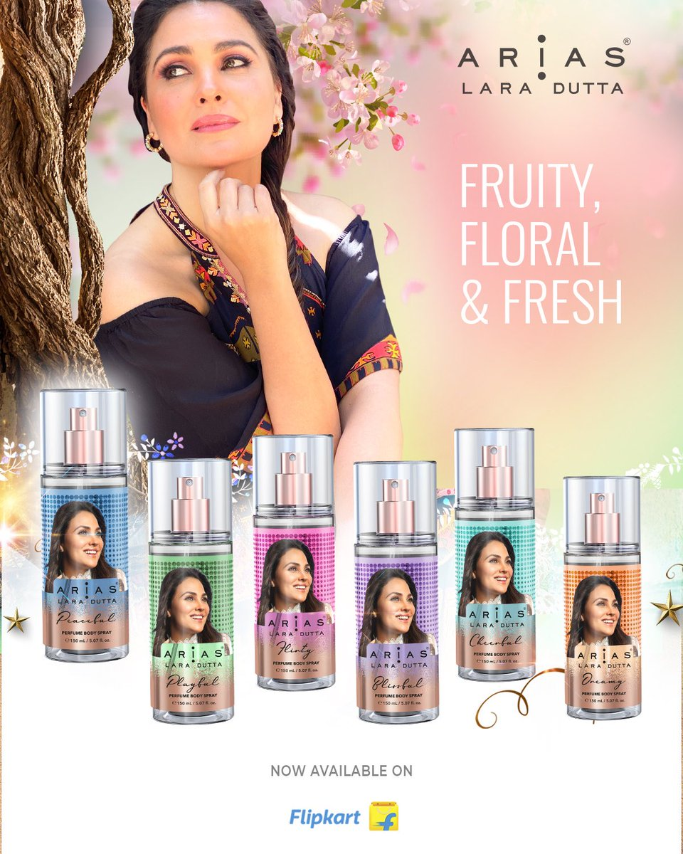 Watch out! A fruity wave of freshness is coming your way. Enjoy getting drenched in the all new, super refreshing @worldofarias body sprays! Now available on @flipkart. Click on the link now-  #Scents #Fragrances #BodySprays