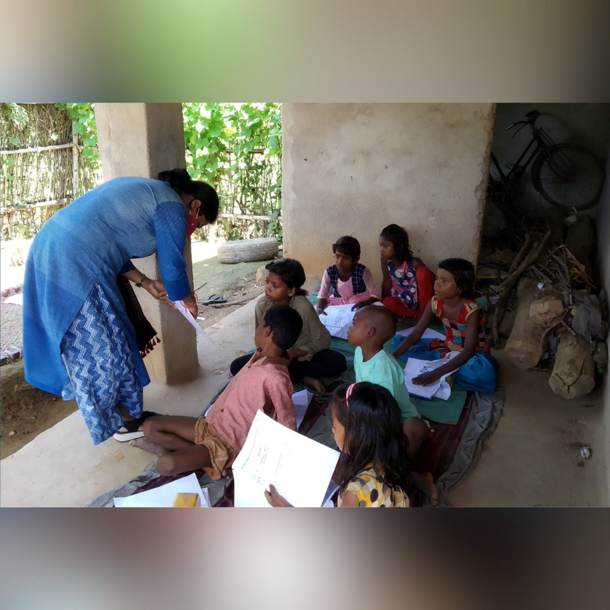 Having a feedback loop and keeping it individualised has supported #children being invested in the #learning process. To support our work contribute  #education #foundationallearning #ruralindia #educateindia #nonprofits #AspirationalDistrict #Sonebhadra