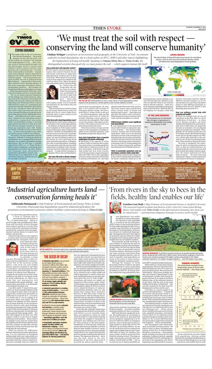 Staying Grounded   Join #TimesEvoke on an exploration of the soil which sustains us, and discover how we can help to sustain it  👇