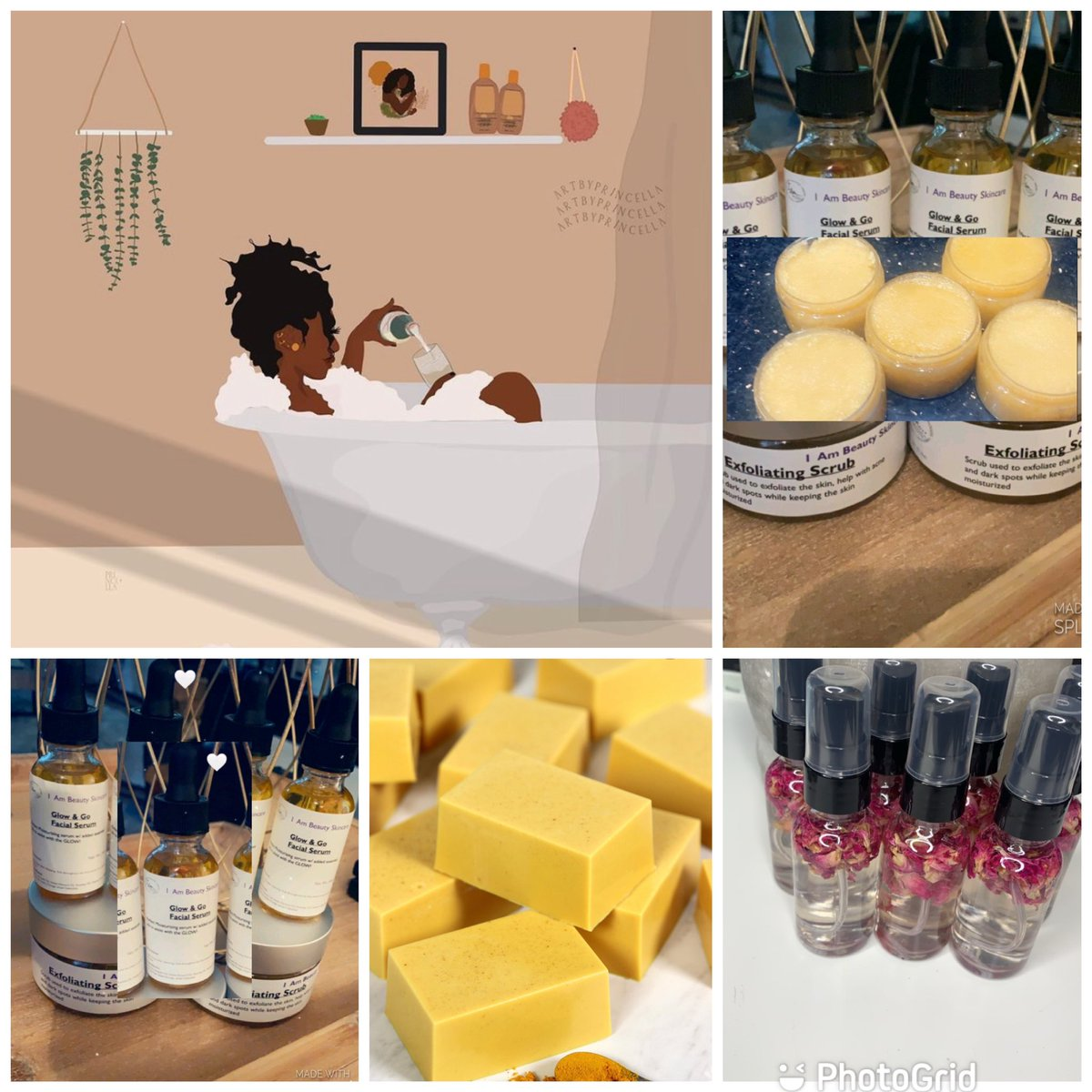 All Natural Skincare Products  #naturalskincare #turmericsoap #turmeric #skincareproducts #esthetician #BlackOwnedBusiness #BlackGirlMagic #skincareproducts #skincaretips