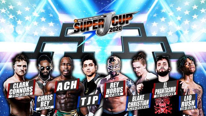 NJPW Super J-Cup Results: ACH Vs. El Phantasmo, Lio Rush In Action