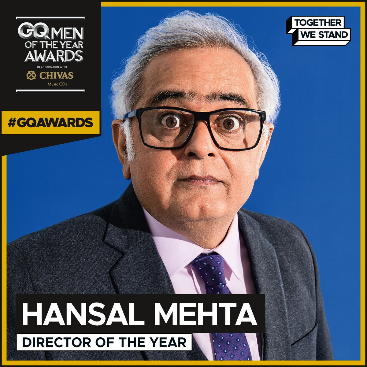 Introducing our 2020 #GQAwards winners: Director of the Year: @mehtahansal  @ChivasIndia #MOTY2020