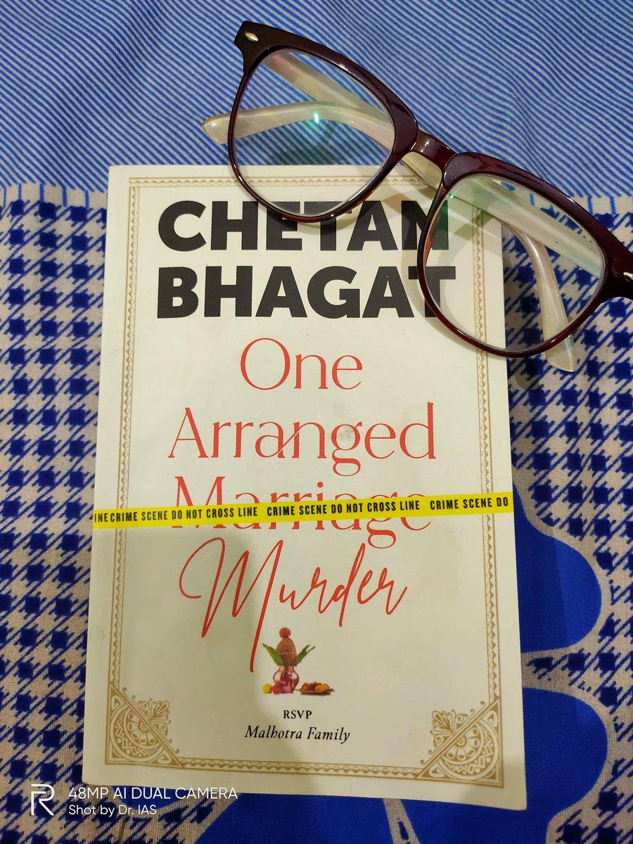 Starting from today #OneArrangedMurder  @chetan_bhagat